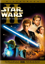 Star Wars 2: Attack of the Clones Cover Art